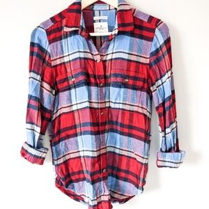 AEO • Ahh-Mazingly Soft Classic Fit Plaid Flannel